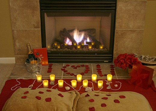 Сделать романтик для любимого дома фото